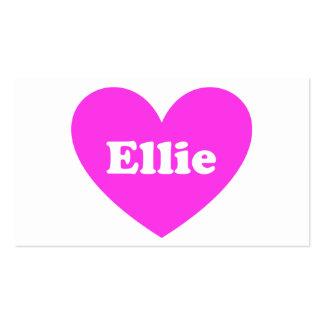 Ellie Pack Of Standard Business Cards