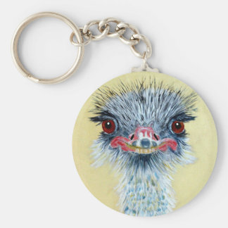 Ellie the Emu Key Ring