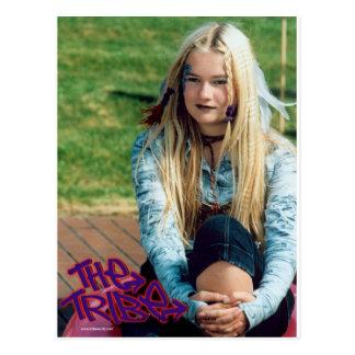 Ellie The Tribe Postcard