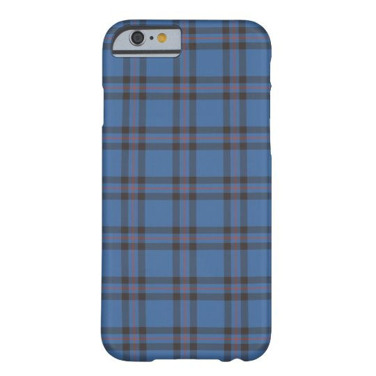 Elliot Clan Blue and Brown Tartan Barely There