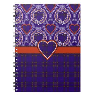Elliot clan Plaid Scottish tartan Notebook