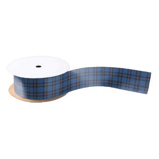 Elliot Clan Tartan Satin Ribbon