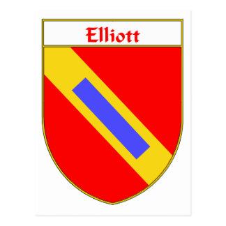 Elliott Coat of Arms/Family Crest Postcard