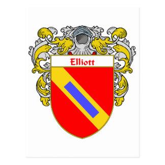 Elliott Coat of Arms (Mantled) Post Cards