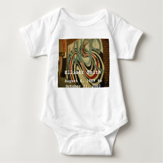 elliott smith memorial wall baby bodysuit