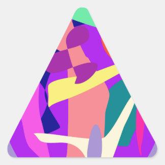 Ellipse Triangle Sticker