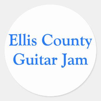 Ellis County Guitar Jam Sticker