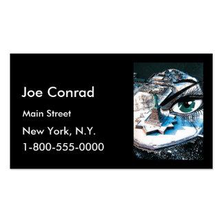 Ellis Island eye Business card