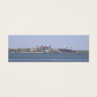 Ellis Island-NYC Bookmark Mini Business Card