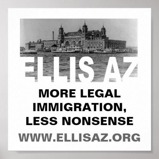 EllisAZ.org Less Nonsense Poster