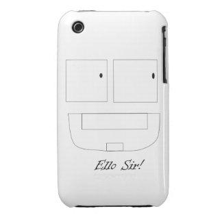 Ello Sir iPhone 3G/3GS Case iPhone 3 Case-Mate Case