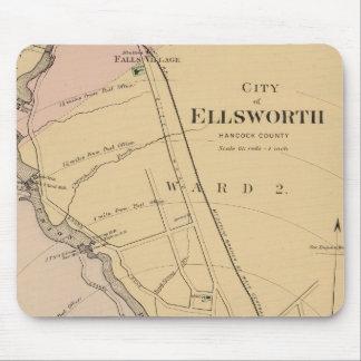 Ellsworth, Maine Mouse Mat