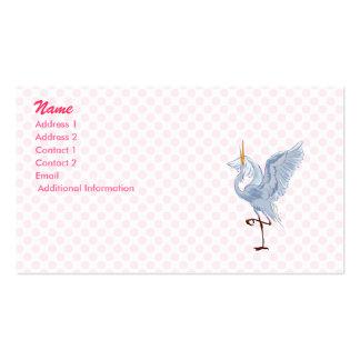 Elly Egret Business Cards