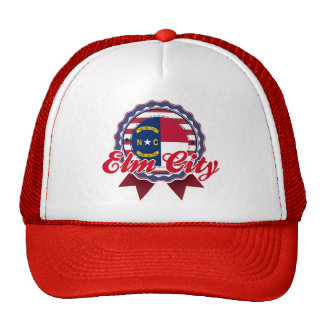 Elm City, NC Mesh Hat
