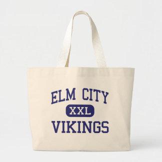 Elm City Vikings Middle Elm City Jumbo Tote Bag