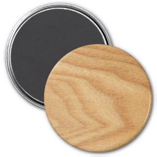 Elm Woodgrain Large Round Magnet