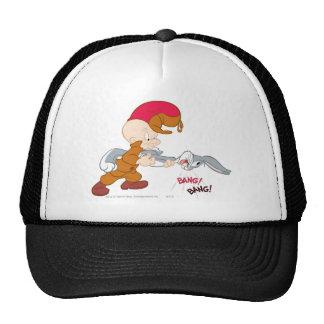 Elmer Fudd and Bugs Bunny Mesh Hats