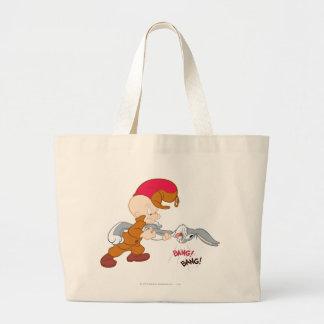 ELMER FUDD™ and BUGS BUNNY™ Large Tote Bag