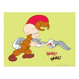 ELMER FUDD™ and BUGS BUNNY™ Postcard