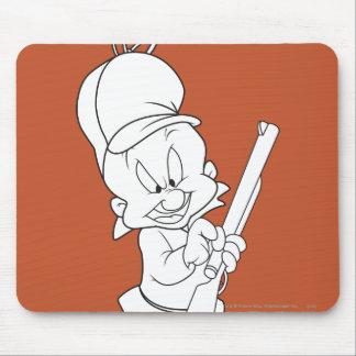 Elmer Fudd Hunting Mousepads