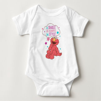 Elmo | A Smile is Always in Style Baby Bodysuit