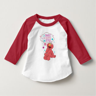 Elmo   A Smile is Always in Style T-Shirt