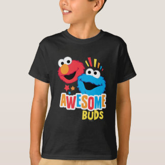 Elmo and Cookie Awesome Buds T-Shirt