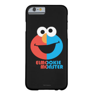 Elmo and Cookie Half Face Barely There iPhone 6 Case