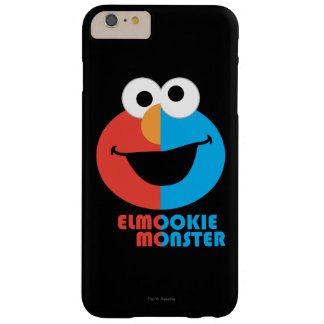 Elmo and Cookie Half Face Barely There iPhone 6 Plus Case