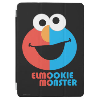 Elmo and Cookie Half Face iPad Air Cover