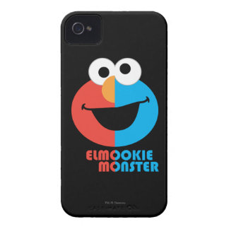 Elmo and Cookie Half Face iPhone 4 Case-Mate Case
