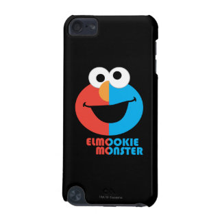 Elmo and Cookie Half Face iPod Touch 5G Cases