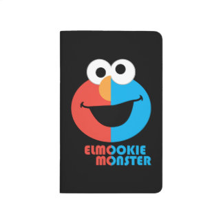 Elmo and Cookie Half Face Journal