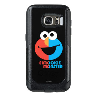 Elmo and Cookie Half Face OtterBox Samsung Galaxy S7 Case