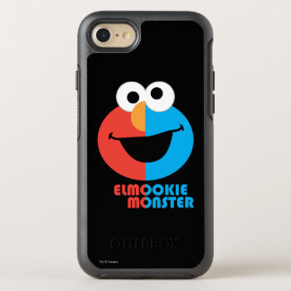 Elmo and Cookie Half Face OtterBox Symmetry iPhone 8/7 Case