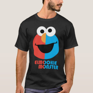 Elmo and Cookie Half Face T-Shirt