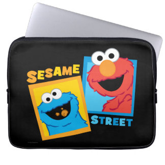Elmo and Cookie Monster Friends Laptop Sleeve