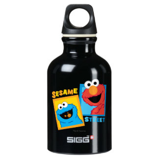 Elmo and Cookie Monster Friends Water Bottle
