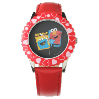Elmo and Cookie Monster Friends Wrist Watch