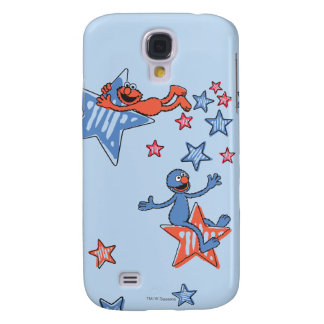 Elmo and Grover Among The Stars Galaxy S4 Case