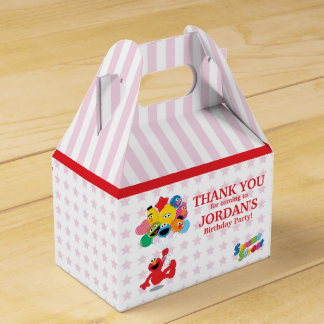 Elmo and Pals Birthday Balloons Party Favour Box