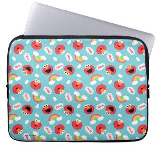 Elmo and Rainbows Pattern Laptop Sleeve