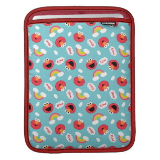 Elmo and Rainbows Pattern Sleeve For iPads