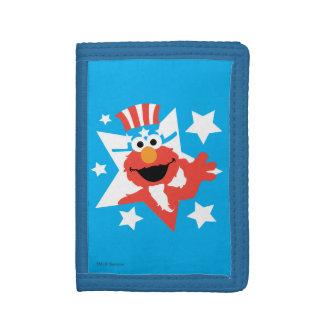 Elmo as Uncle Sam Tri-fold Wallet