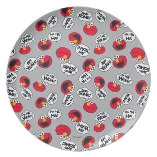 Elmo | Aw Yeah, Awesome Pattern Plate