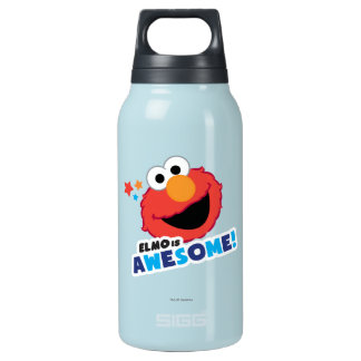 Elmo Awesome Insulated Water Bottle