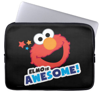 Elmo Awesome Laptop Sleeve