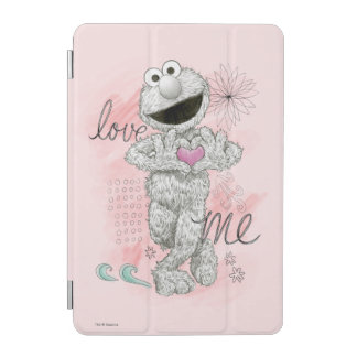 Elmo B&W Sketch Drawing iPad Mini Cover