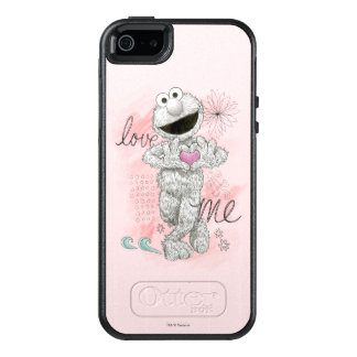 Elmo B&W Sketch Drawing OtterBox iPhone 5/5s/SE Case