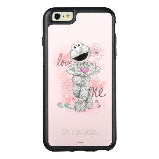 Elmo B&W Sketch Drawing OtterBox iPhone 6/6s Plus Case